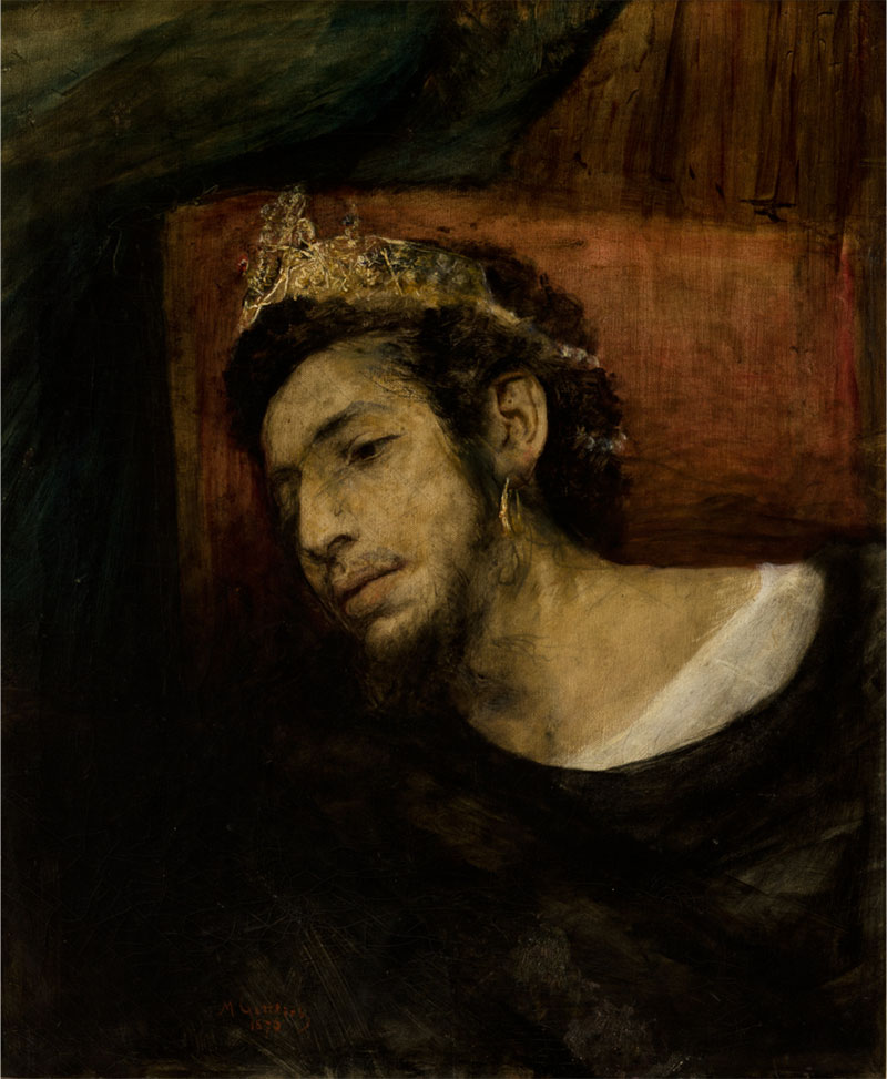 Maurycy Gottlieb, Selbstporträt als Ahasver (1876)